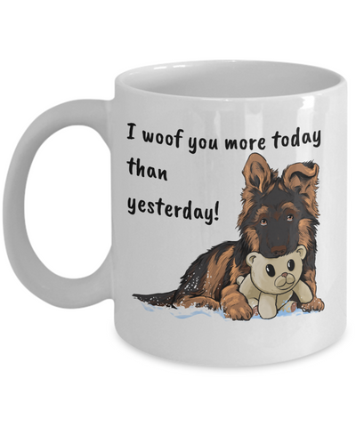 GSD - I Woof You