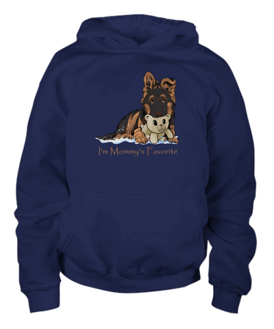 I'm Mommy's Favorite - Cute Puppy T-shirt