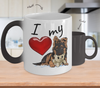 GSD - I Love My (Color-Changing Mug)