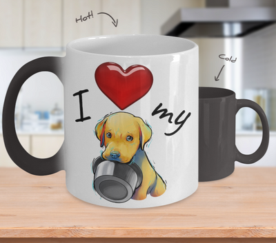 LAB - I Love My (Color-Changing Mug)