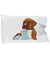 Boxer Dog and Kitten Decorative - Pillow Case