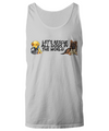 Let's Rescue All Dogs In The World Tank Top - Puppies