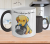 LAB - Home Is Where My Dog Is At (Color Changing Mug)