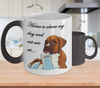 BOXCAT - Home Is Where My Dog And Cat Are At Mug (Color Changing Mug)