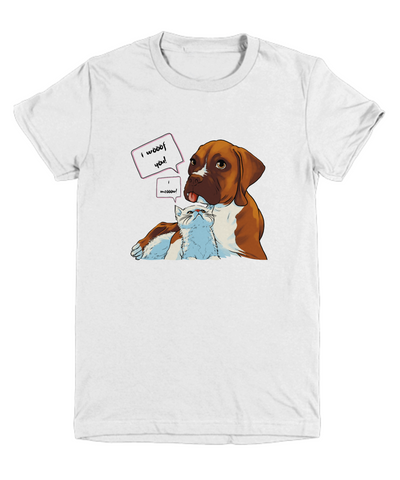 BoxCat - I Woof you I Know (Youth Tee)