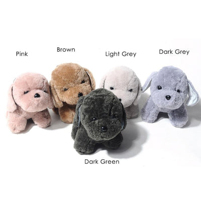 5 Colors Cute Dog Bag Charms
