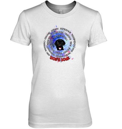 Puppies Love Dogs Love T Shirts Only N-2-Apparel-DogBlabShop