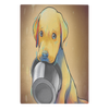 Puppy Kitchen Glass Cutting Board
