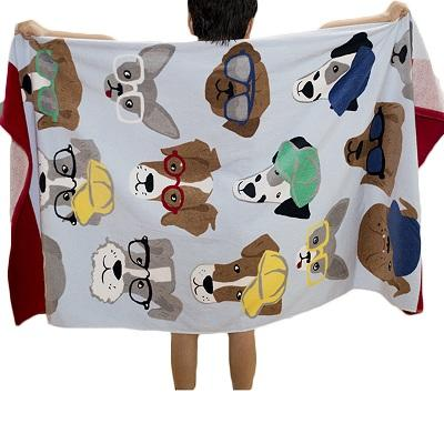 Dogs Cotton Towels for Kids - DogBlabShop