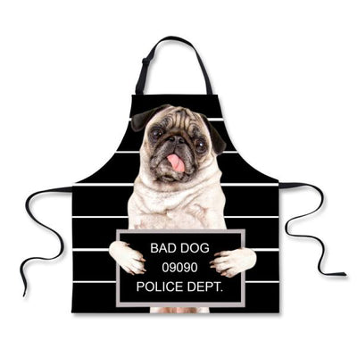 Beautiful 3D Dog Novelty Kitchen Aprons *GIFT IDEA - DogBlabShop
