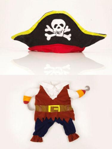Pirate Costume for Cats-Cat Apparel-DogBlabShop