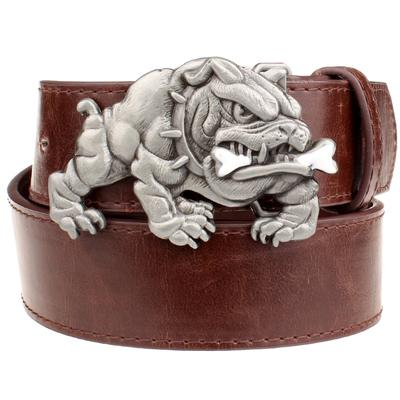 Angry Bulldog Buckle Belts for Men and Women - DogBlabShop