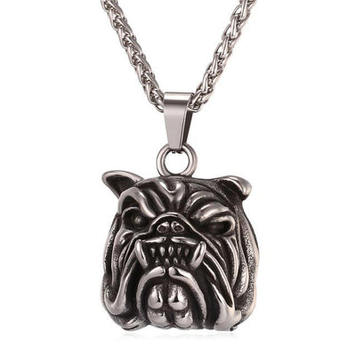 American Pit Bull Terrier Dog Necklace & Pendant Men/Women Gold Color Stainless Steel Hot Fashion Jewelry