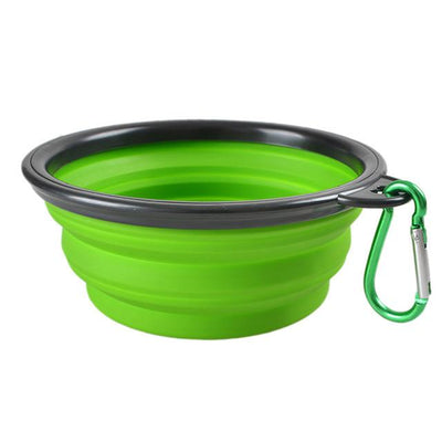 Portable Folding Pet Feeding Bowls -Dog Feeding & Watering Supplies-DogBlabShop
