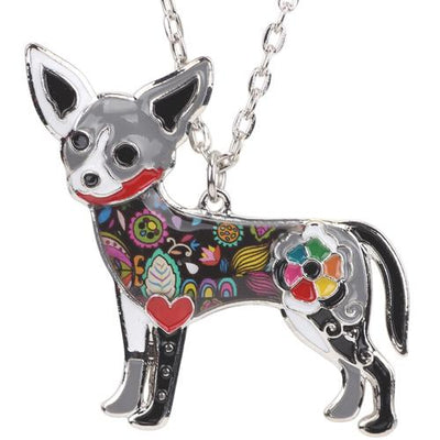 Beautiful Necklace Chihuahua Dog Choker Necklace Chain Fashionable And Trendy