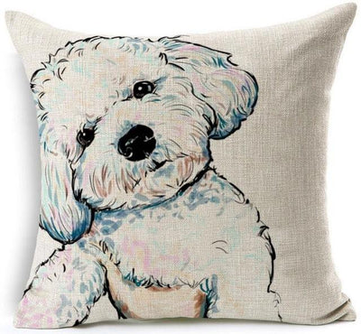 Cool Linen Decorative Pillowcases - DogBlabShop