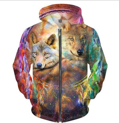 3D Print 7 Designs Dog-Wolves Jacket