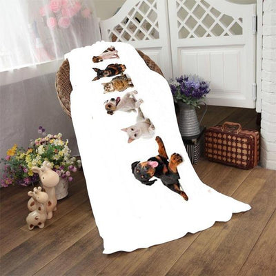 Dogs Fluffy Towels - DogBlabShop