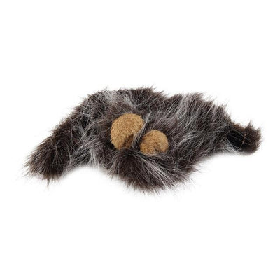 Faux Hair Lion Mane with Ears Costume for Cats
