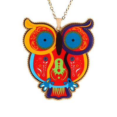Acrylic Animal Charm Necklaces for Women