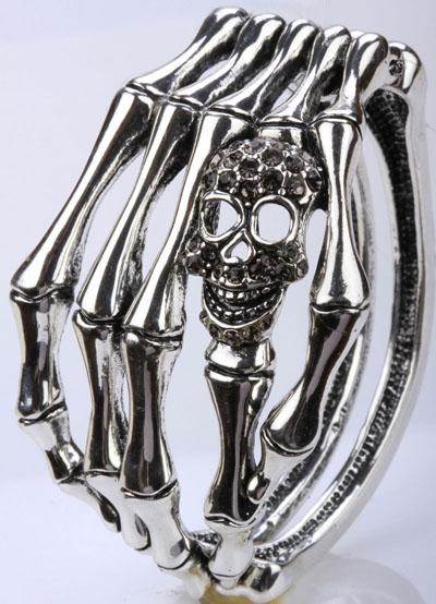 Bones and Skull Bracelet for Women