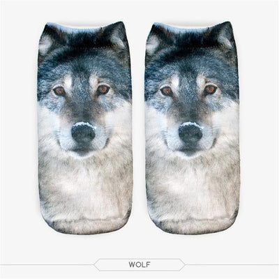3D Printed Dogs Women's Ankle Socks - DogBlabShop