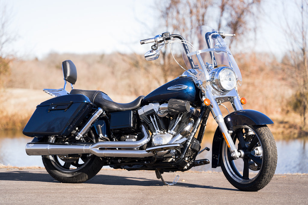 "2013 Harley-Davidson Dyna Switchback Switch Back FLD 103""/6spd Tons of Upgrades!"