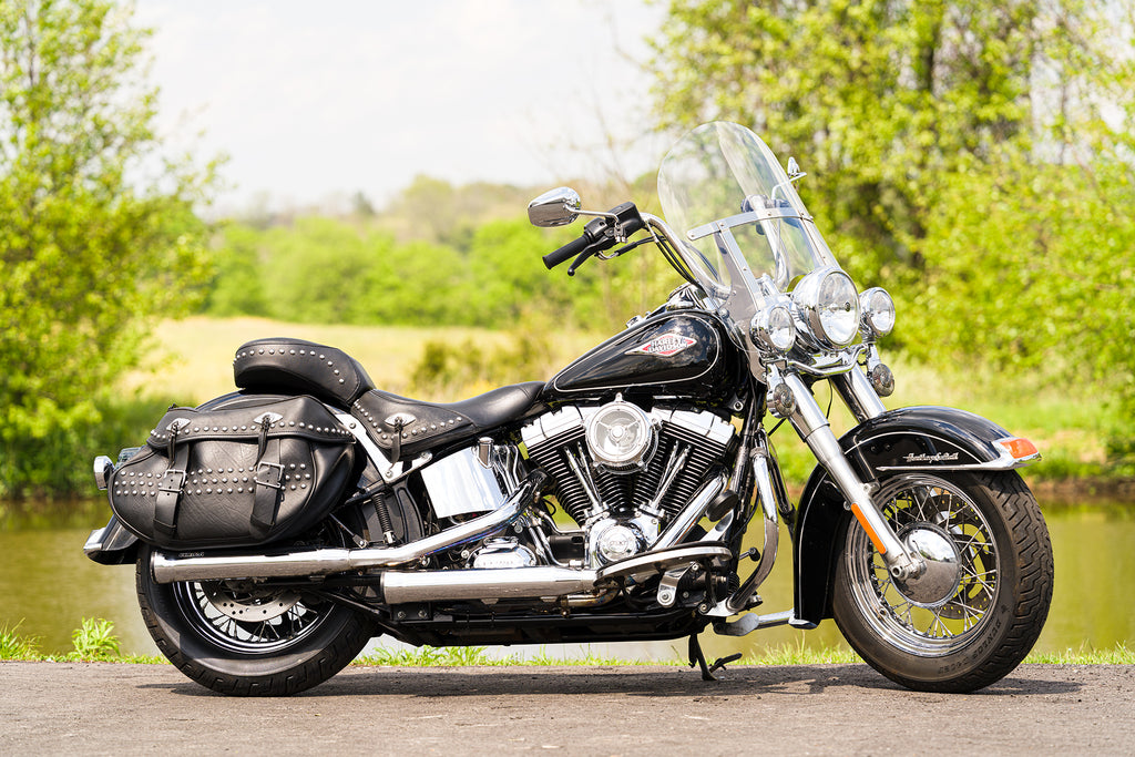 2015 Harley-Davidson Heritage Softail Classic FLSTC Many Extras! 12,068 Miles!!