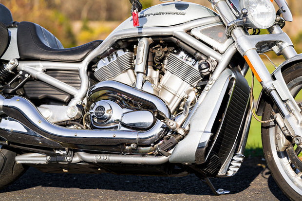 2004 American Ironhorse Texas Chopper AIH 111 S&S Polished Engine Flames Softail
