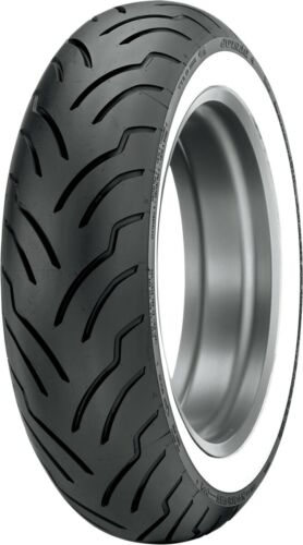 Dunlop American Elite 180 180/65B16 Whitewall Rear Tire Harley Touring Dresser