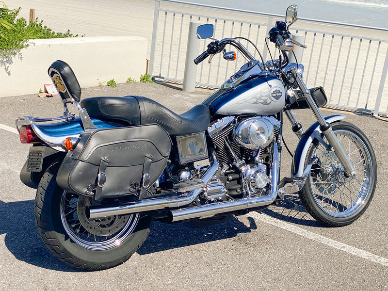 2002 Harley-Davidson Dyna Wide Glide FXDWG 9,581 Miles! w/ Tons of Extras!! - $7,995