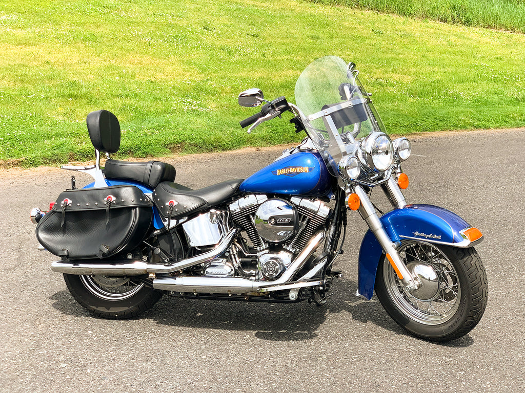"2017 Harley-Davidson Heritage Softail Classic FLSTC Only 2,859 Miles! 103""/6Spd"