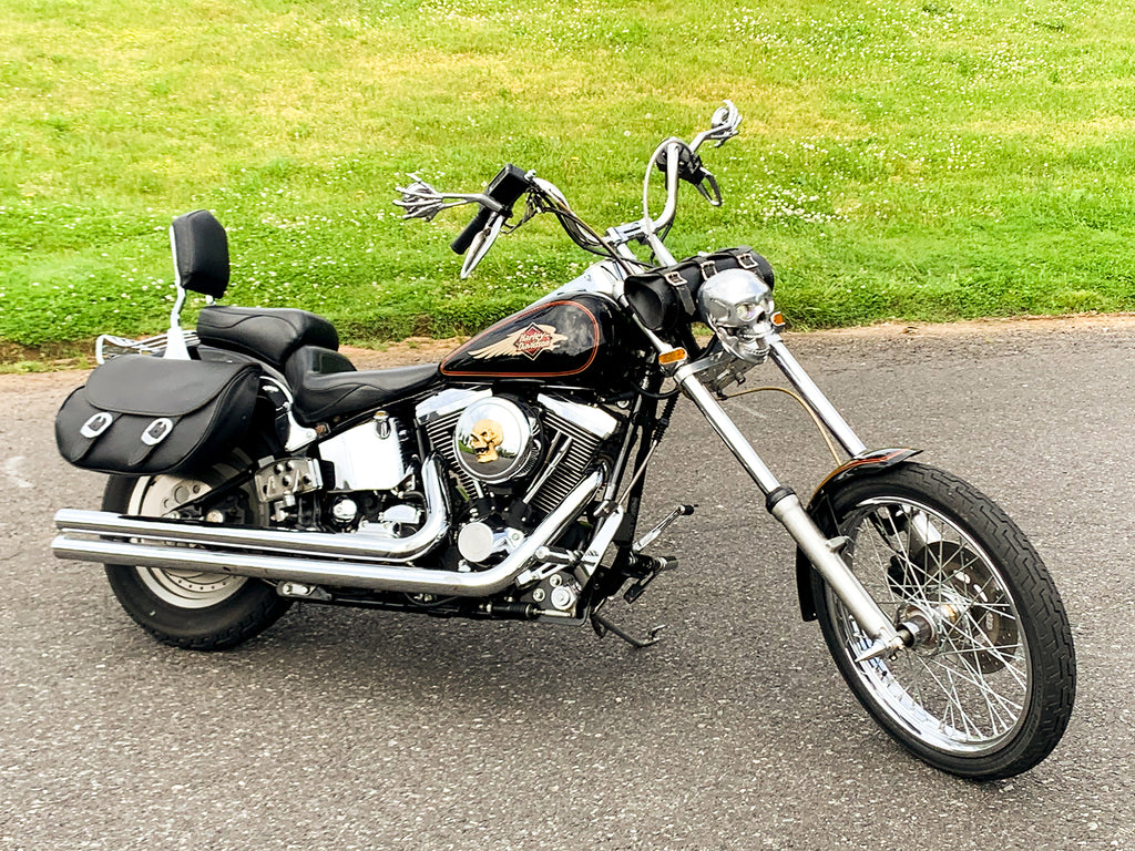 1995 Harley-Davidson Softail Custom FXSTC Raked-Out Chopper Only 19,179 Miles!