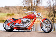 "1950 Red Harley Davidson FL 74"" Panhead Restored to Brand New Condition! Stunning!"