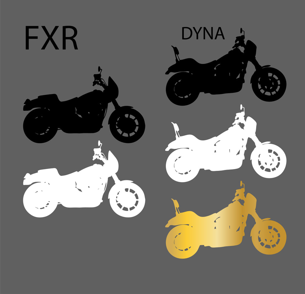 FXR AND DYNA DECALS VINYL STICKERS