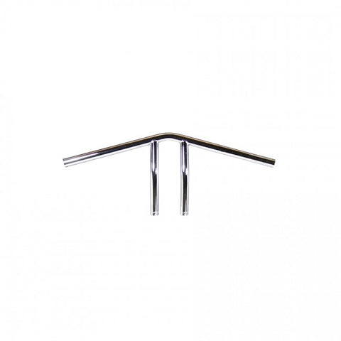 "TC Bros. 1"" Whiskey Handlebars - Chrome"