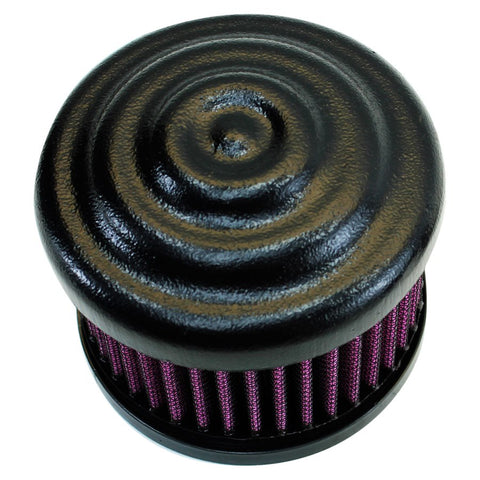 TC Bros. Ripple Black Air Cleaner S&S Super E & G Carbs