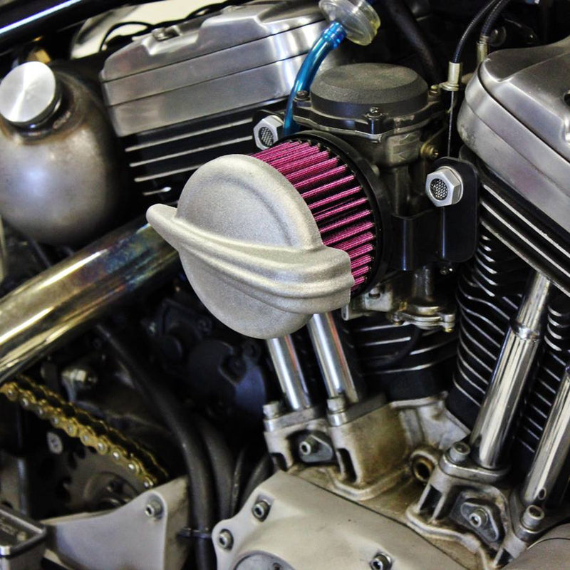 TC Bros. Streamliner Raw Air Cleaner S&S Super E & G Carbs