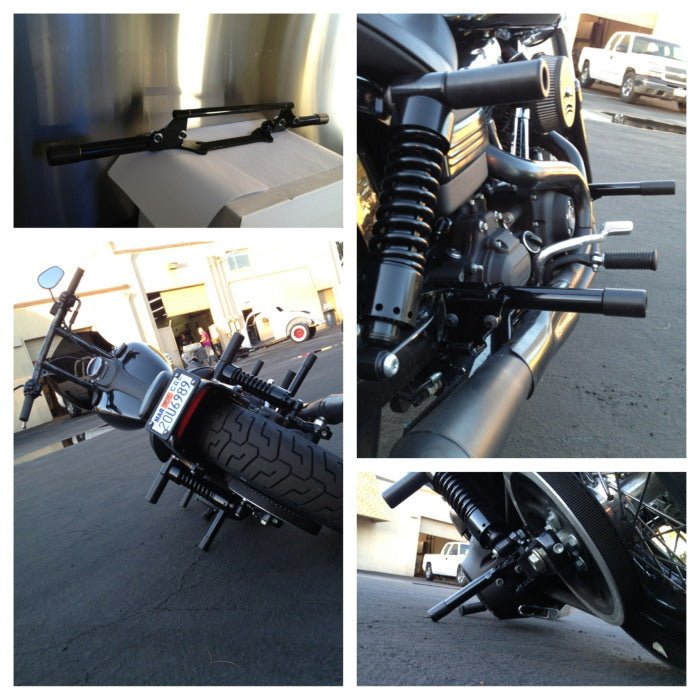Bung King Passenger Peg Crash Bar For Harley Davidson