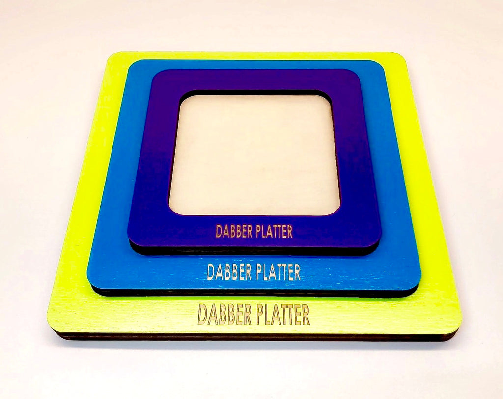 Silicone Tray - Dabber Platter - Small
