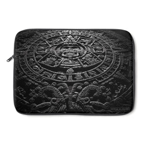 Aztec Calendar Laptop Sleeve from Mental XS Online