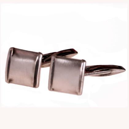 CAVAS Men's 925 Silver Cufflinks with Vintage Style Finish - Italian Couture Jewelry :: Mental XS Online