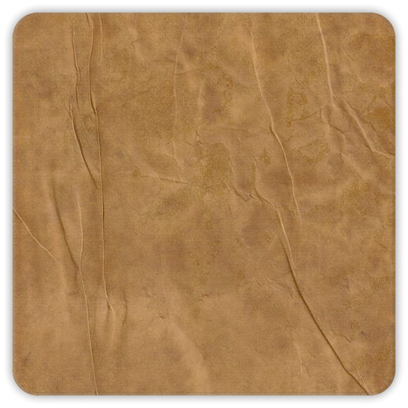 Antique Parchment Square Premium Hardboard Coasters 4-Pack :: Mental XS Online
