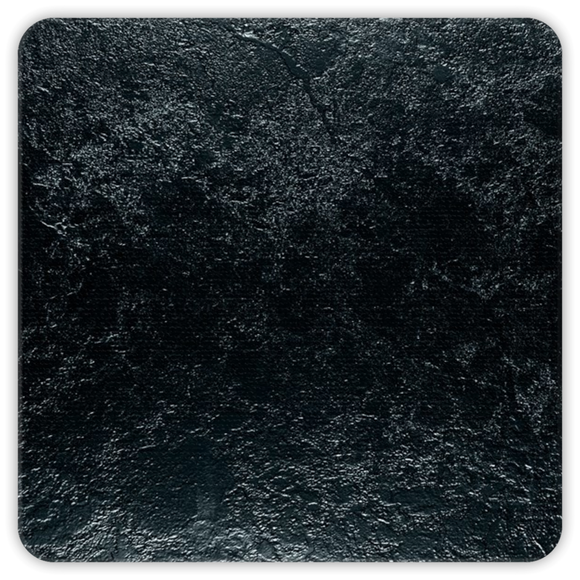 Midnight Stone Square Premium Hardboard Coasters 4-Pack :: Mental XS Online