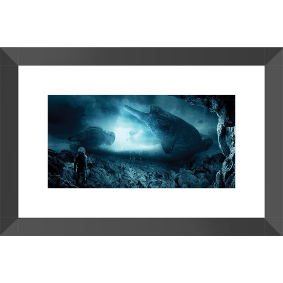 Prometheus Framed Fine Art Print [20x30 cm, Black Oak Frame] :: Mental XS Online