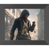 "Assassin's Creed: Unity Arno Dorian Framed Fine Art Print [10"" x 12"" Non-Matted SemiGloss 300gsm, Black Oak Frame] :: Mental XS Online"