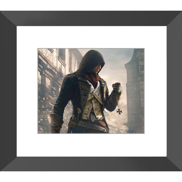 Assassin's Creed: Unity Arno Dorian Framed Fine Art Print [14.5