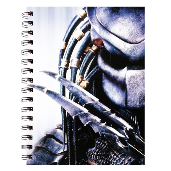 AVP Predator White Spiral Notebook (200 Pages) :: Mental XS Online