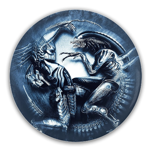 AVP Alien vs Predator Pin-Back Button :: Mental XS Online