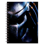 AVP Predator Black Spiral Notebook (200 Pages) :: Mental XS Online